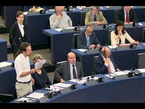 Discurso íntegro de Pablo Iglesias en Parlamento Europeo
