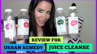 BEST JUICE CLEANSE + URBAN REMEDY REVIEW