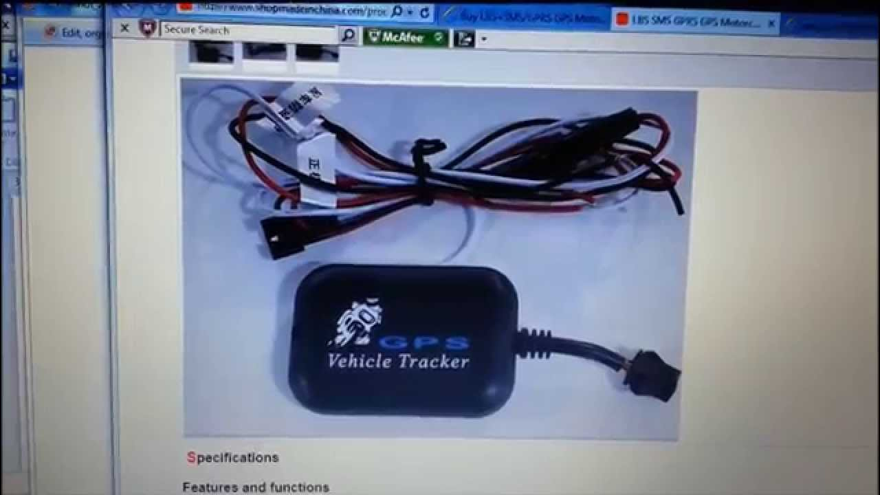 Gps Vehicle Tracker Setup1 Youtube
