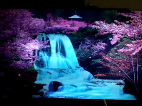 sakura falls cherry blossom waterfalls youtube