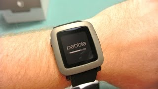 Pebble Time Unboxing and Setup!