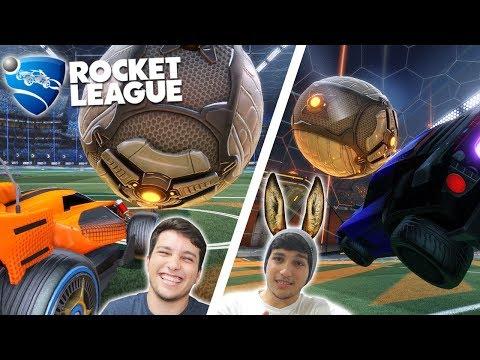 Rocket League - Qual Melhor? Assassins Raiz ou Nutella