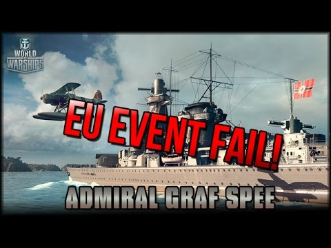 "World of Warships - EU Event Fail ""Graf Spee"" mit Gästen!"