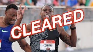 USADA Drops Doping Case Against Christian Coleman
