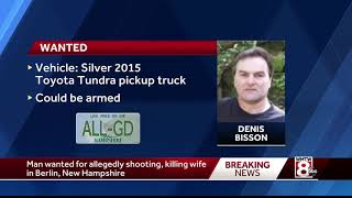 Police search for NH murder suspect