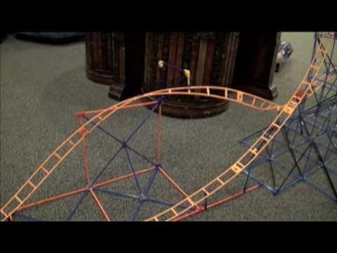 K'nex Pretzel Roller Coaster