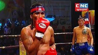 Phetsanan Thailand Vs Prum Samnang Cambodia, Khmer Warrior CNC TV Boxing 22 July 2018