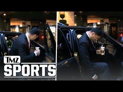 "Yao Ming -- 7'6"" vs. Passenger Seat ... The Struggle Is REAL!!!"