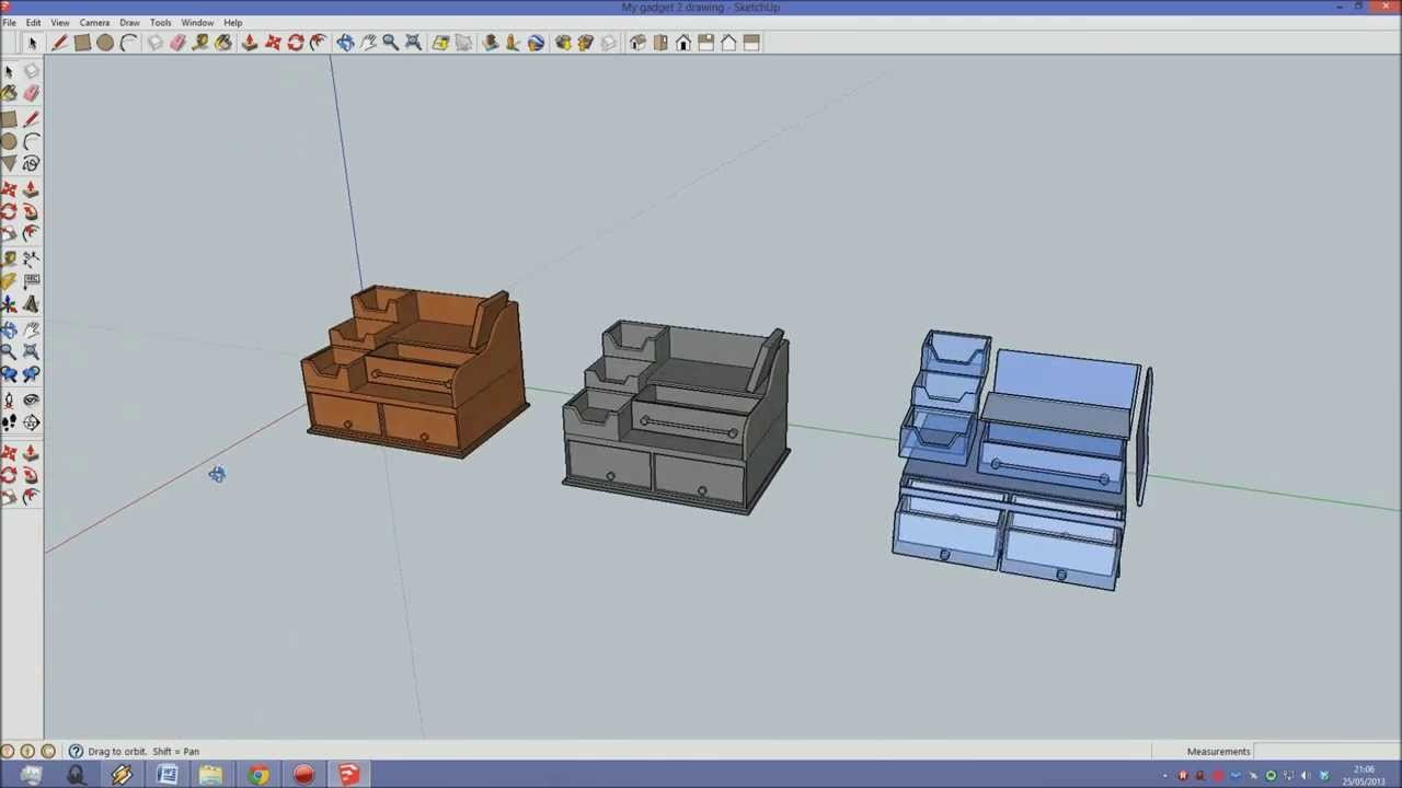 my gadget tidy for d t resistant materials course work cad youtube. Black Bedroom Furniture Sets. Home Design Ideas