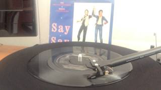 Say Say Say / Paul McCartney & Michael Jackson en Vinilo
