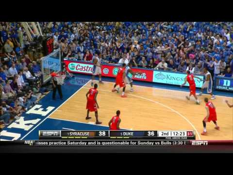 CBB 13/14 #1 Syracuse Orange vs #5 Duke Blue Devils 02/22/14 (Full Game)