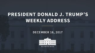 Weekly Address: 12/16/2017