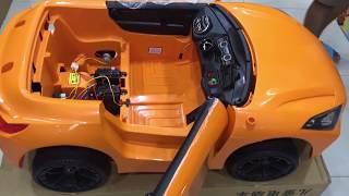 Xe ô tô điện trẻ em BMW 99001 - Mở hộp xe ô tô điện trẻ em BMW (Xe cho bé)
