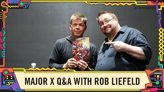 Marvel Comics Major X Q&A with Rob Liefeld at SDCC 2019