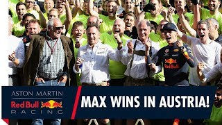 Max Verstappen brings it home at the Austrian Grand Prix!