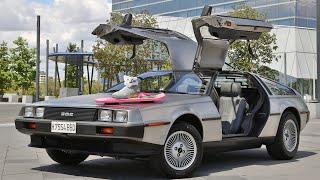 Prueba el DeLorean DMC 12 de 'Regreso al Futuro'