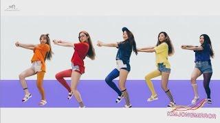 Red Velvet Dumb Dumb Dance Compilation Mirrored