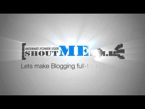 ShoutMeLoud Youtube Intro bumper
