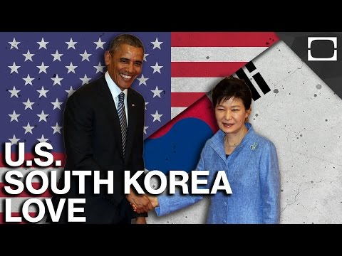 Why Do The U.S. And South Korea Love Each Other?