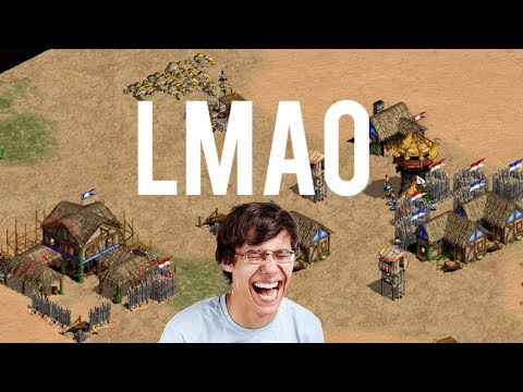 Aoe2 Funniest Tower Rush Game