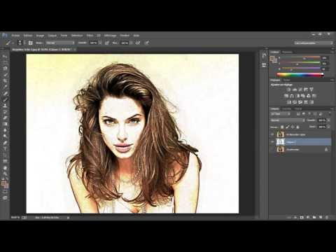 Tuto gratuit dessin au crayon de couleurs avec photoshop cc (www.studio-media.fr)
