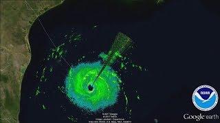 Hurricane Harvey Noaa P 3 Radar Mission 13 August 24 2017 Afternoon