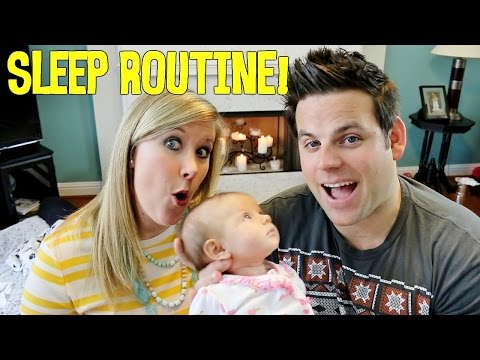 Baby's Sleep Routine | Baby Steps: Cullen & Katie video