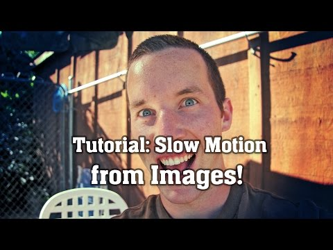 Slow Motion From Pictures! [After Effects Pixel Motion Tutorial]