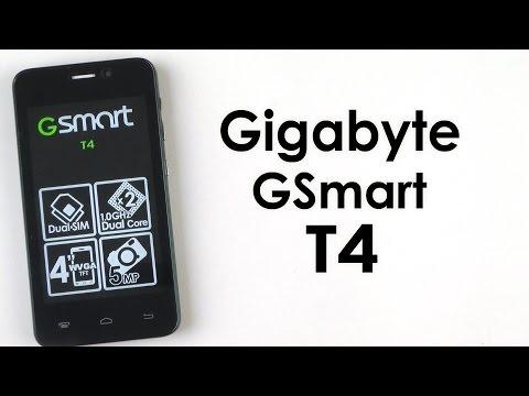 Распаковка Gigabyte GSmart T4