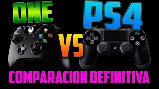 XBOX ONE VS PS4 2015