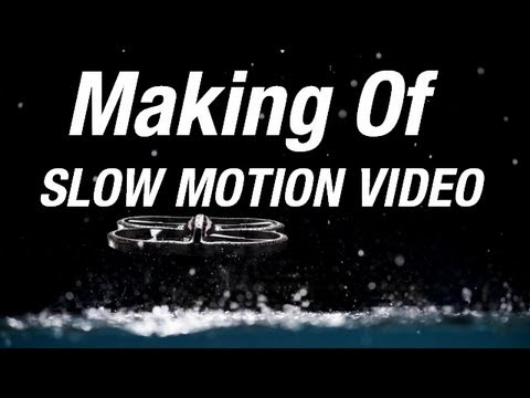 Making Of - AR.Drone 2.0 Slow Motion Video with Phantom Flex Camera