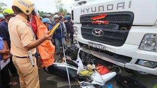 Tài xế container cán chết 2 người bị dân rượt đuổi - Tai nạn giao thông mới nhất hôm nay