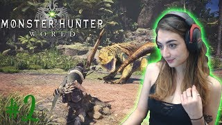 FIRST BIG QUEST! - Monster Hunter World Playthrough - Part 2