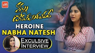 Nannu Dochukunduvate Heroine Nabha Natesh Exclusive Interview | Sudheer Babu