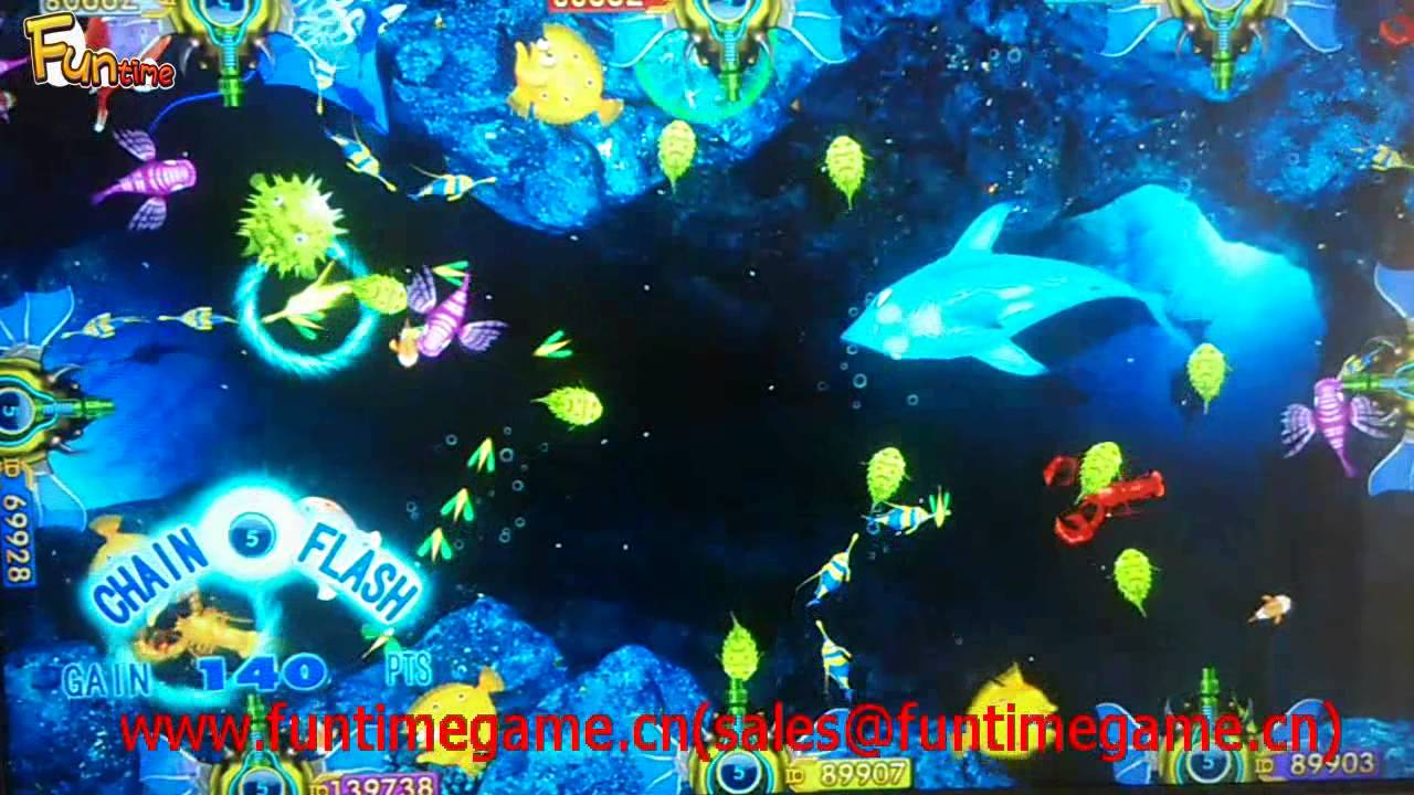 Ocean king fish arcade game with english version youtube for Ocean king fish game