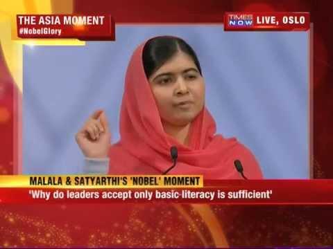 I am not a lone voice, I am many: Malala Yousafzai