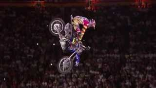 Thomas Pagès lands WORLD FIRST EVER bike flip at Red Bull X-Fighters Madrid 2014