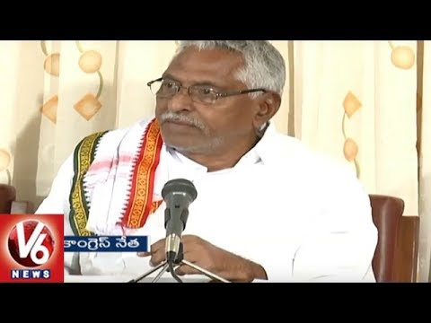Congress Leader Jeevan Reddy Demands For Census Of Backward Classes | V6 News