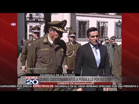 Rodrigo Peñailillo recibió apoyo de la nueva Mayoría tras ser cuestionado por boletas
