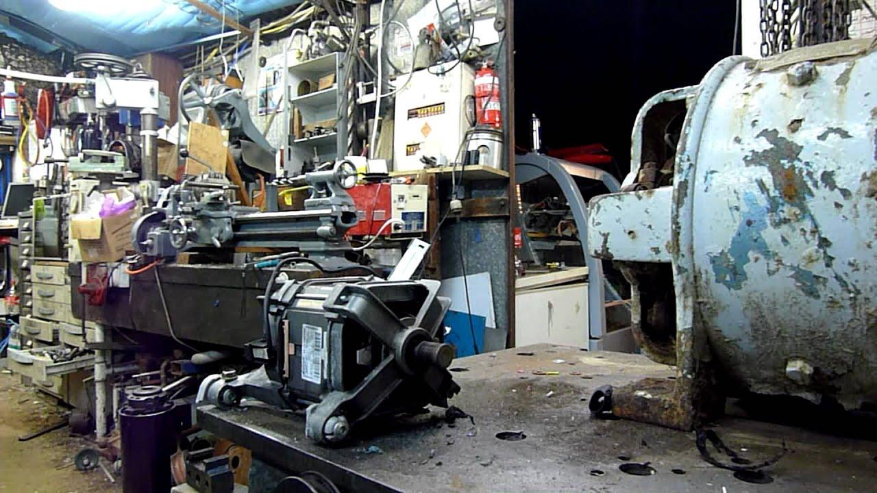 Washer Motor Self Destruction