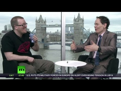 Keiser Report: Virgin Bitcoin vs Old Hag Pound (E443, ft. Frankie Boyle)