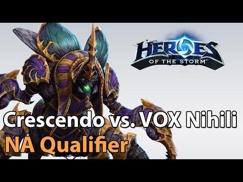 ► Heroes of the Storm Pro Play: Crescendo vs. VOX Nihili - US Qualifier