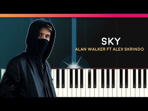 """Alan Walker - """"Sky"""" Piano Tutorial - Chords - How To Play - Cover"""