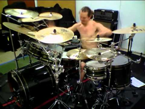 Peter Wildoer Rehearsing For Dream Theater Audition. video