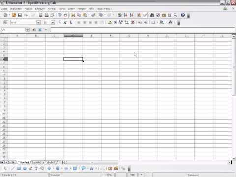 OpenOffice Calc Makro erstellen