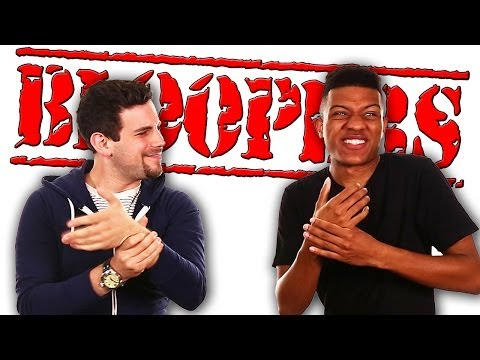EVERYBODY F**KS UP ON BLOOPERS!