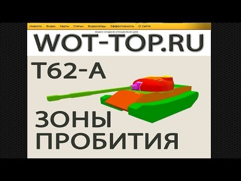 и схема бронирования Т 62а