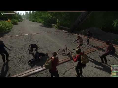 喪屍遊戲誤造 楚河路遇同行國人,與飛車老外爆發戰争