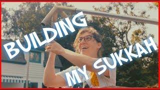 Building My Sukkah    Mayim Bialik