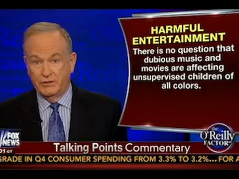 'Gangsta Culture' Rant by Bill O'Reilly with Jay-Z, Kanye and Beyoncé